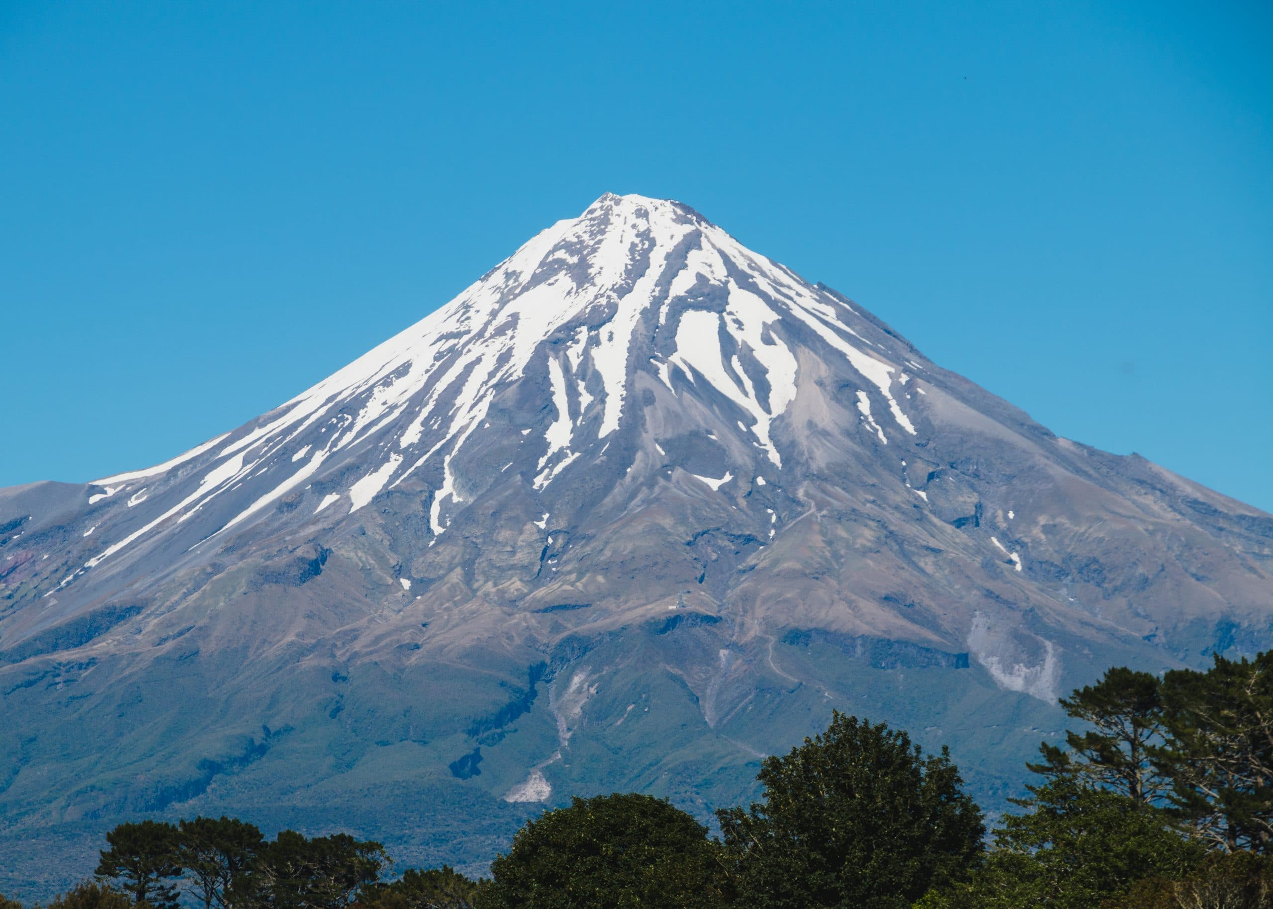Mount Taranaki in summer, Christmas 2015